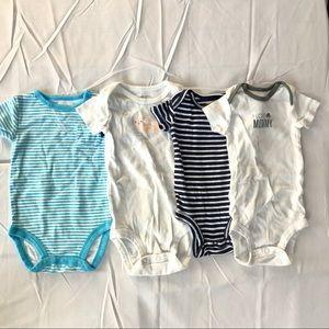 4 Carter onesies